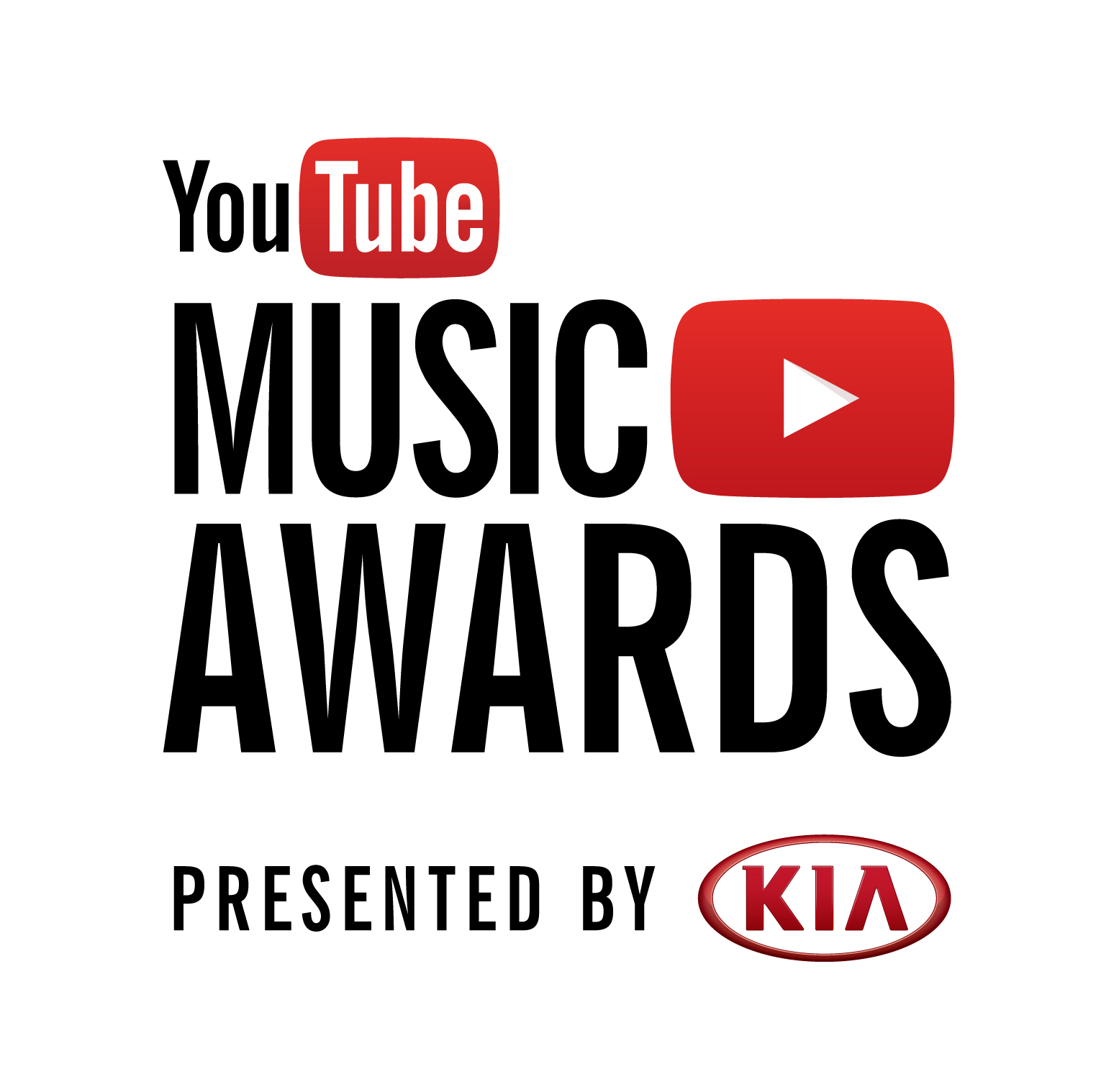 youtube music awards logo hoch