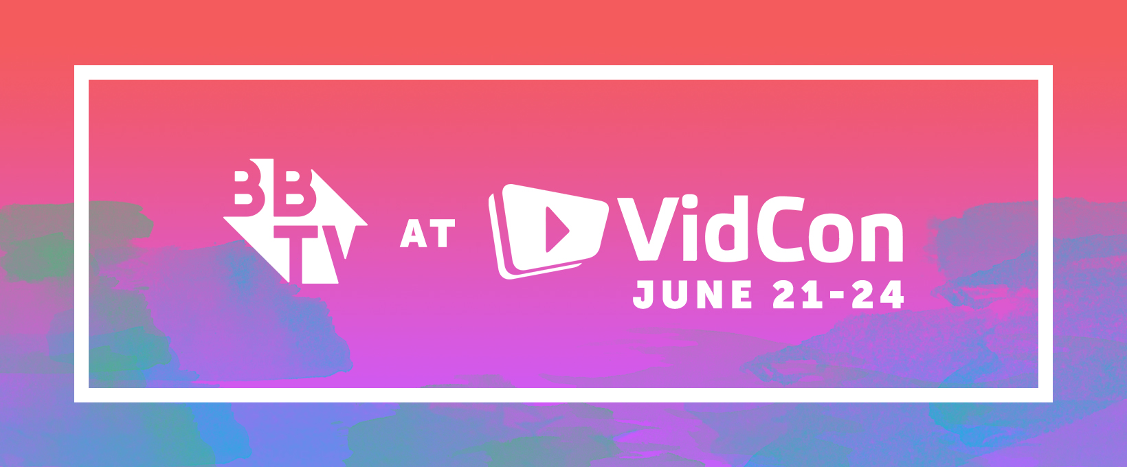 VidCon - Facebook Banner-Red