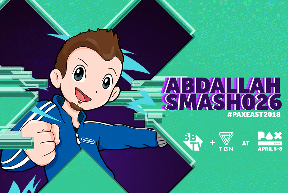 PAX 2018 Blog abdallahsmash026 Abdallah Smash is Heading to Pax East 2018