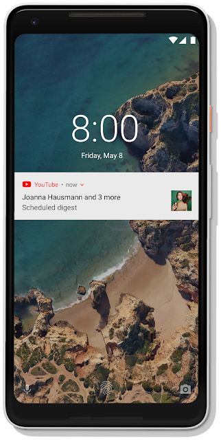 03 scheduled digest notification device frame Bem estar Digital no YouTube