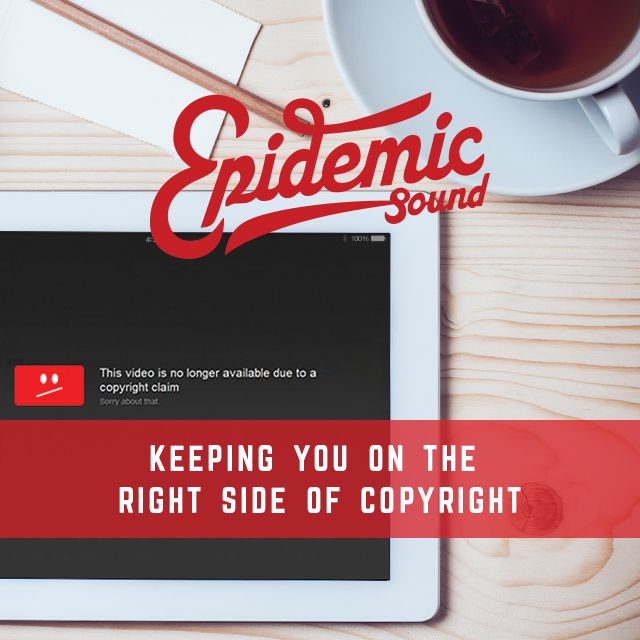 EpidemicSoundBlogPost Square Epidemic Sound を使って、著作権侵害を免れよう!