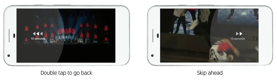 10秒早送り&巻き戻し 新しくなったYouTubeロゴ、デザイン、アプリ機能を紹介!