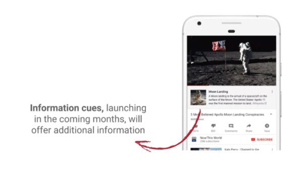 YouTube conspiracy Wikipedia 陰謀論動画にはウィキペディアリンクを追加 YouTubeのCEOが対策に取り組む