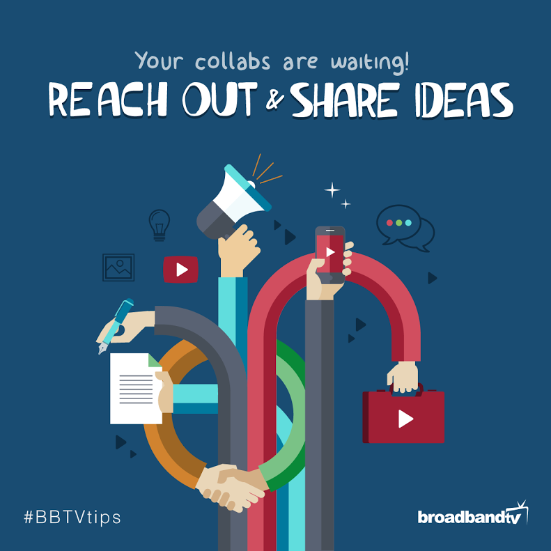 Collab Tip BBTV Tips: Your Collabs are Waiting! Reach Out & Share Ideas