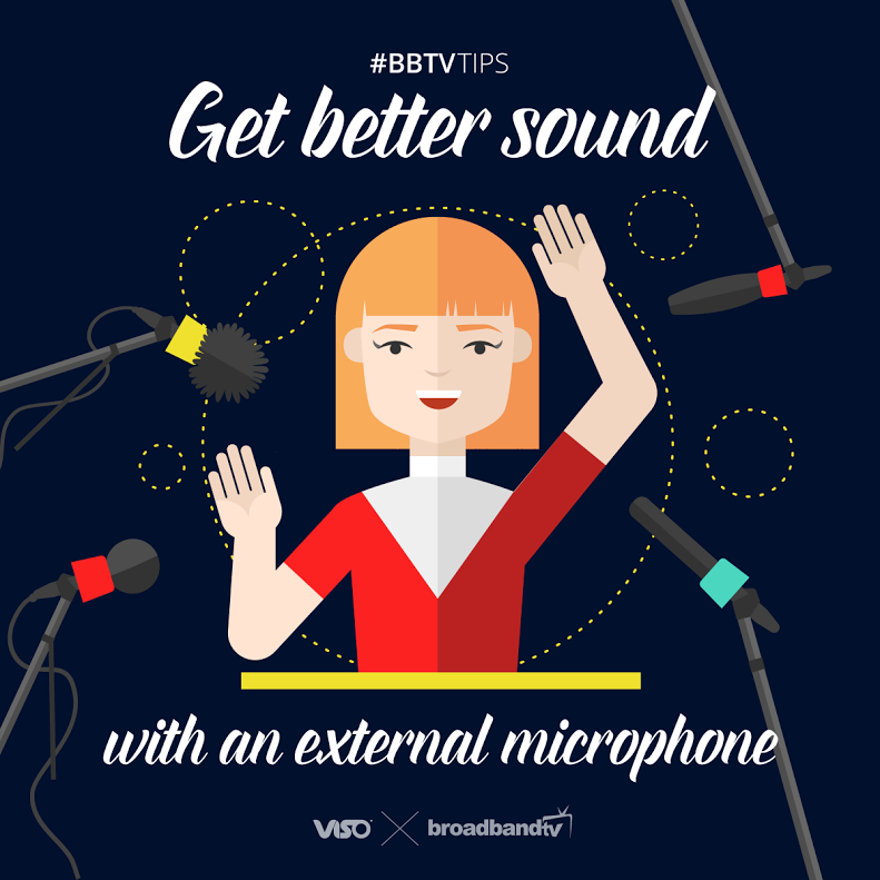 External Microphone BBTV Tips: Get Better Sound with an External Microphone!
