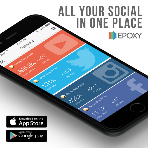 Epoxy Mobile Epoxy Mobile App   All Your Social in One Place!