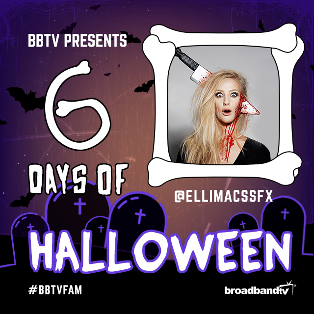 6DaysofHalloween Insta Day4 BBTV's 6 Days of Halloween: Ellimacs SFX Makeup!