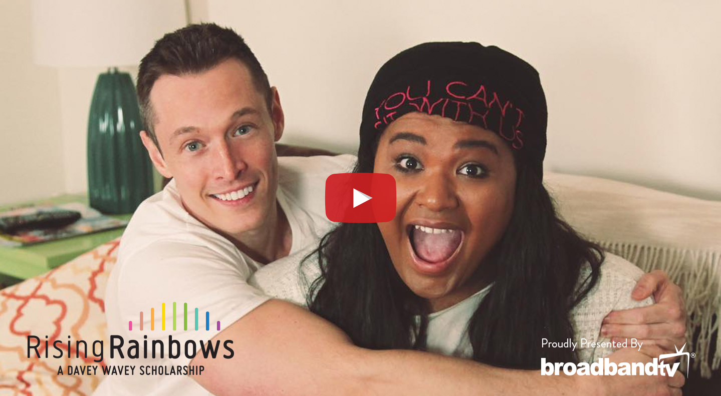 RisingRainbows Facebook Video2 Davey Wavey Presents Rising Rainbows, featuring Darnelle Scott!