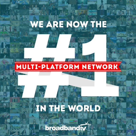 Milestone Image BBTV Is Now The Largest Multi Platform Network Worldwide!