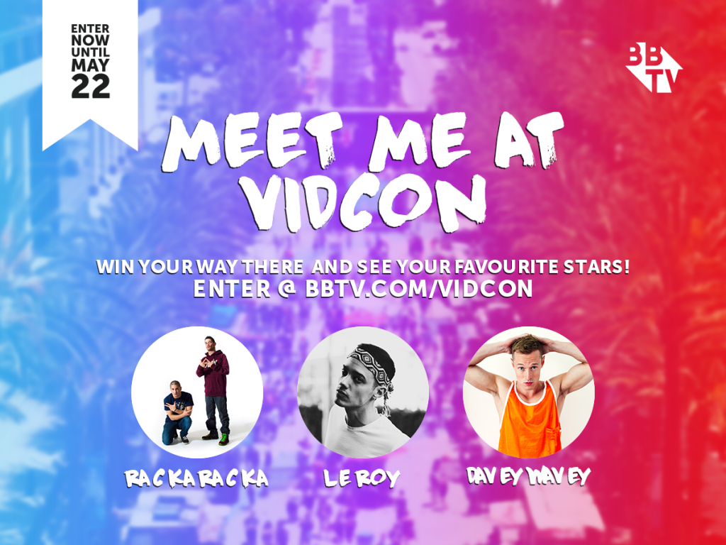 "VidconBBTV Facebook 02 1024x768 Win A Trip For Two To VidCon 2016 With BBTV's ""Show Us Some YASS"""