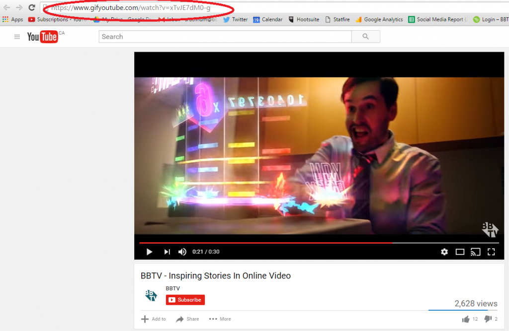 bbtv2 1024x667 #BBTVTip : Turn ANY YouTube Video into a GIF