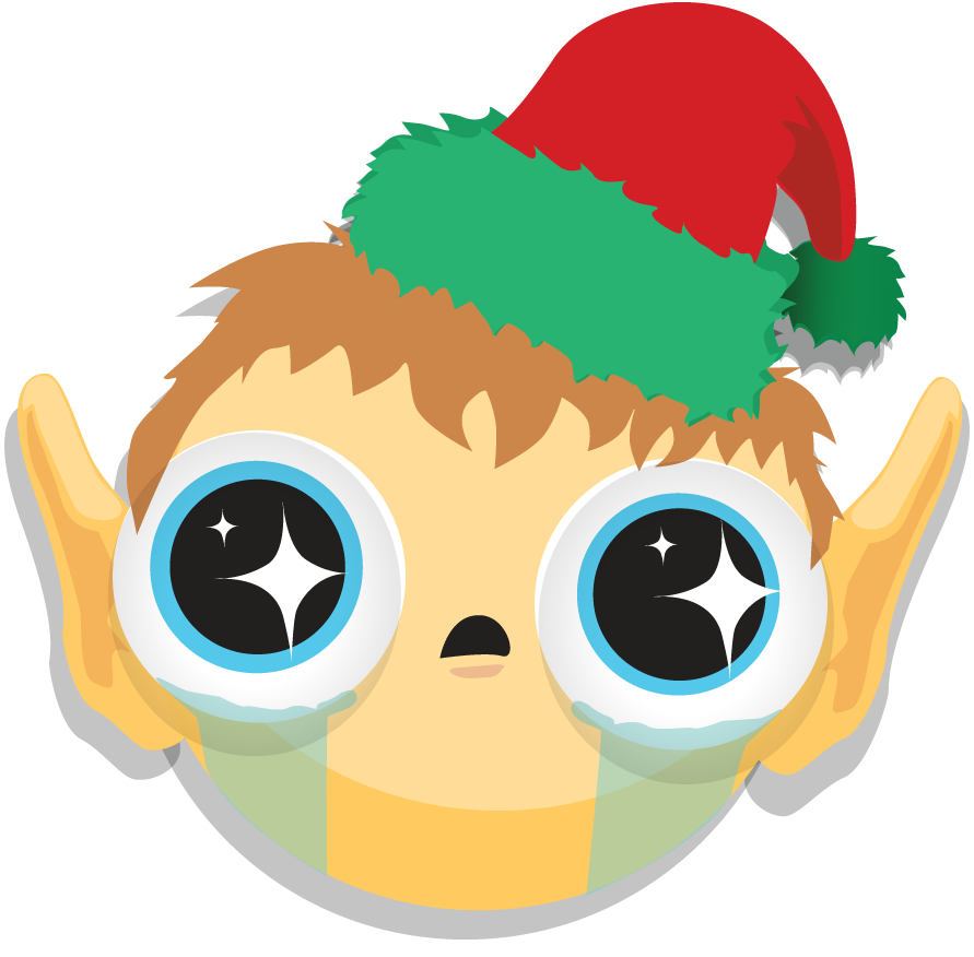 elfie NEW HOLIDAY STICKERS – VISO CATALYST FOR CHROME
