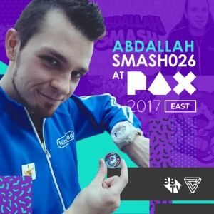 Abdallah 300x300 AbdallahSmash026 IS HEADING TO PAX EAST!