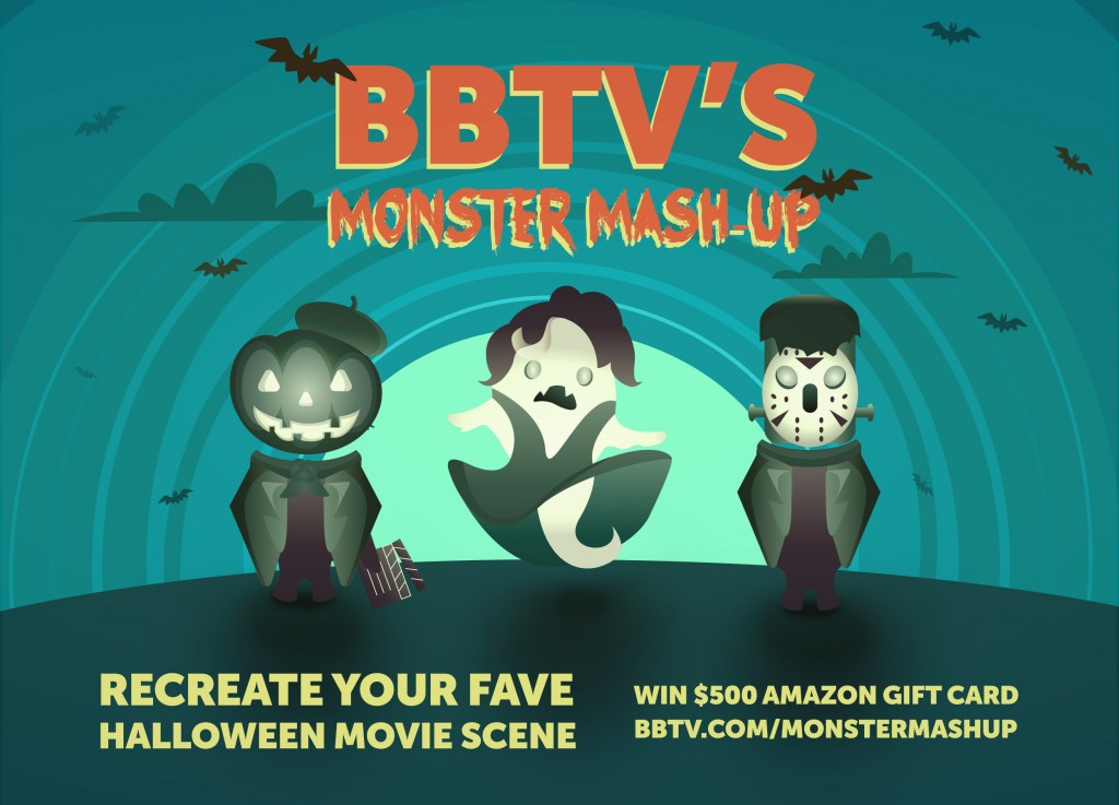 BBTV monster mashup Blog image 1 1024x737 Win Big in BBTVs Monster Mash up Video Contest!