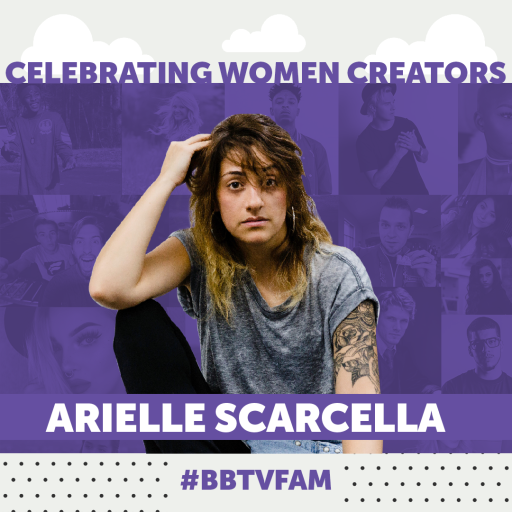BBTV National Womens Day 1080 Arielle Scarcella 1024x1024 #BBTVFAM – SPOTLIGHT ON ARIELLE SCARCELLA
