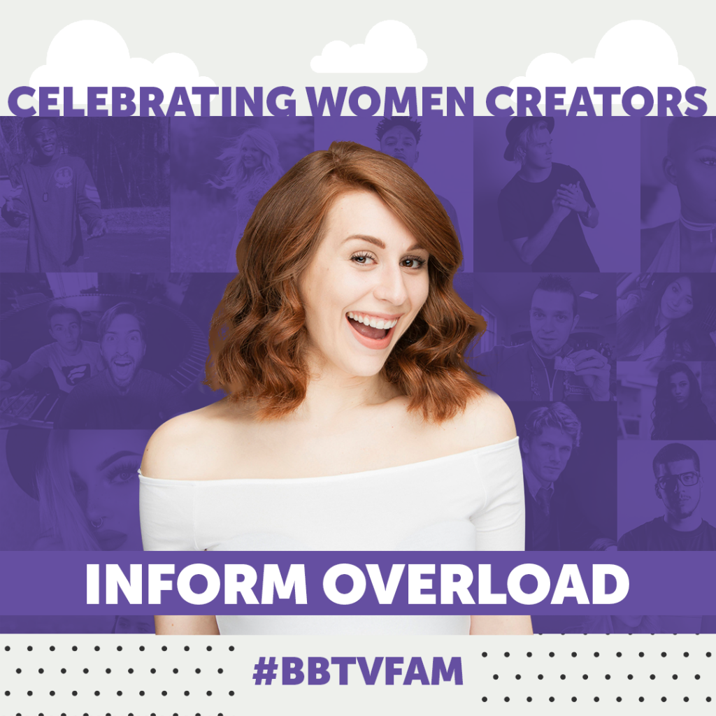 BBTV National Womens Day 1080 Inform Overload 1024x1024 #BBTVFAM – SPOTLIGHT ON CHARLOTTE DOBRE